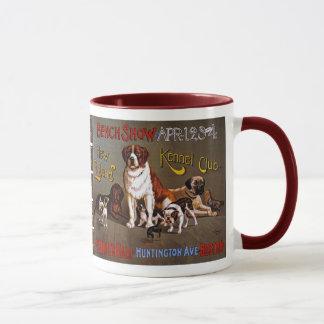 Mug Exposition canine, club de chenil de la Nouvelle