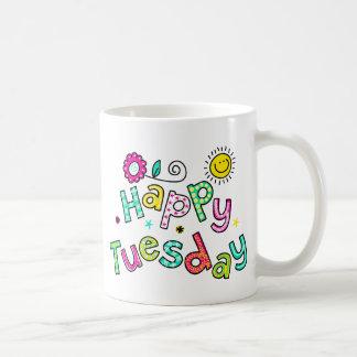 Mug Expression heureuse mignonne des textes de