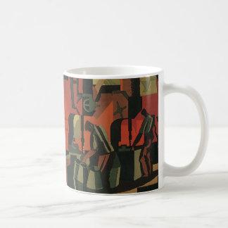 Mug Fabrication industrielle d'affaires vintages d'art