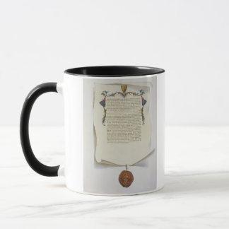 Mug Fac-similez l'édition de la Magna Carta, les