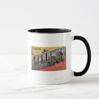 Mug Facturations, Montana - grandes scènes 2 de lettre