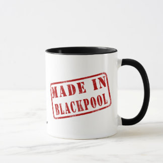 Mug Fait à Blackpool