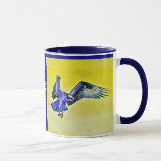 Mug Faucon bleu
