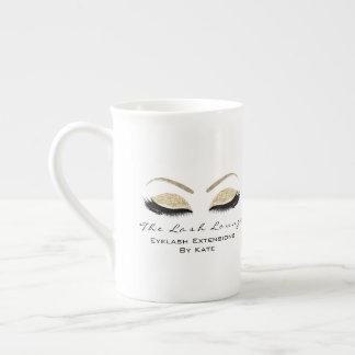 Mug Faux de marquage à chaud d'or de studio de beauté