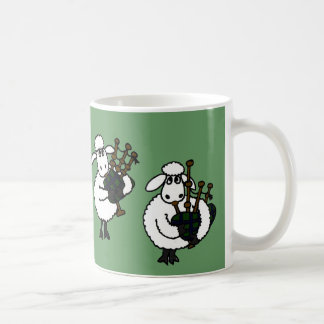 Mug FB moutons impressionnants jouant des cornemuses