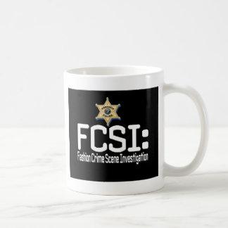 Mug FCSI :  Enquête de scène du crime de mode