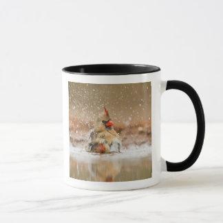 Mug Femelle cardinale du nord 2 (de cardinalis de