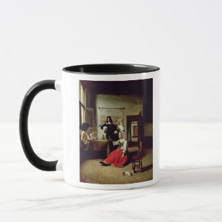 Mug Femme buvant avec des soldats, 1658