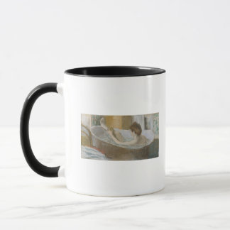Mug Femme d'Edgar Degas | à son Bath, épongeant sa