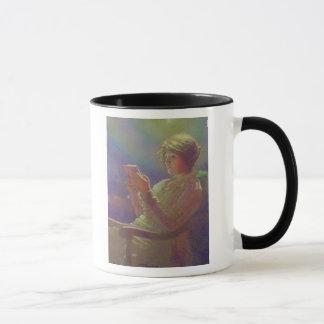 Mug Femme Reading, 1921