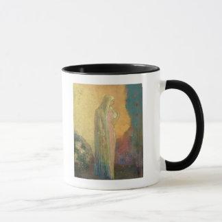 Mug Femme voilée debout