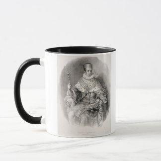 Mug Ferdinand I (1793-1875), roi de Lombardie-Venetia,