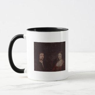 Mug Ferdinand II d'Aragon et d'Isabella I de la