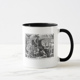 Mug Ferdinand Magellan à bord sa caravelle, 1522