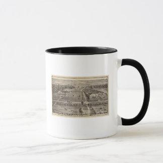 Mug Ferme de Central Park et résidence de parc de Geo