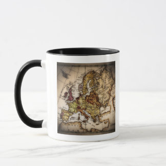 Mug Fermez-vous de la carte antique 2 du monde