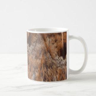 Mug Fermez-vous des plumes de Brown