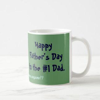 Mug Fête des pères heureuse