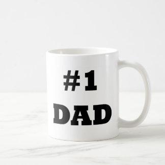 Mug Fête des pères heureuse - numéro 1 papa - papa #1
