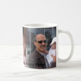 Mug Fête des pères heureuse, pavot Peter !