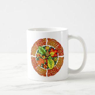Mug Feuille d'automne celtique