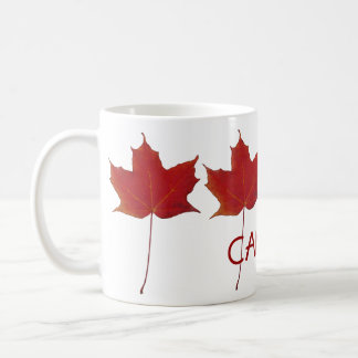Mug feuille d'érable canadienne rouge - Canada