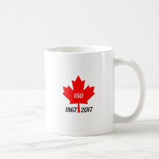 Mug Feuille d'érable du Canada 150 en 2017