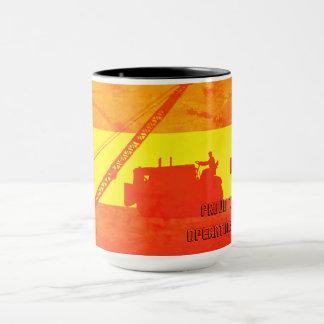 Mug Fier d'être couleurs fonctionnantes d'un sud-ouest