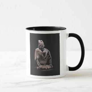 Mug Figure de roi assis maya, d'ofJaina d'île