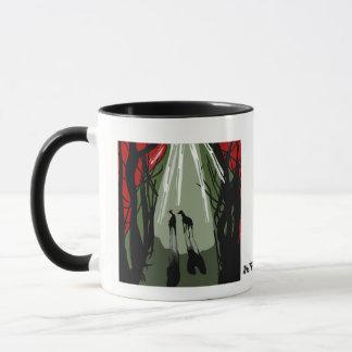 Mug Filer dans la forêt