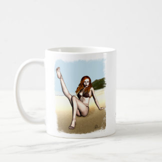 Mug Fille de pin-up Melanie
