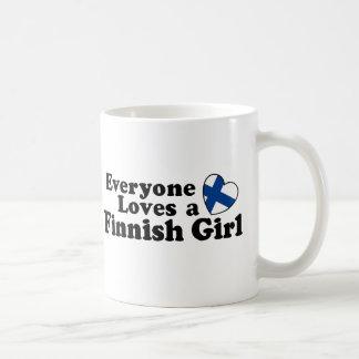 Mug Fille finlandaise