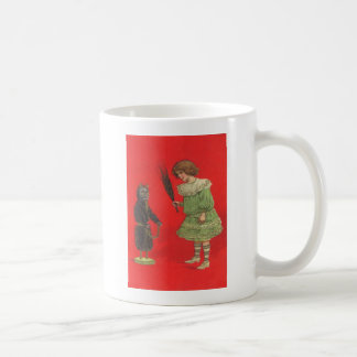 Mug Fille jouant avec la poupée de Krampus