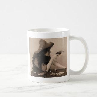 Mug Fille vintage de vache