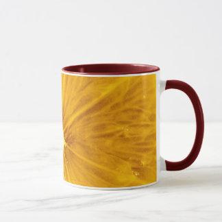 Mug Fin colorée lumineuse de citron