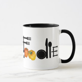 Mug Fin gourmet pour le fond clair