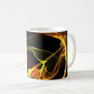 Mug Flambe la conception graphique