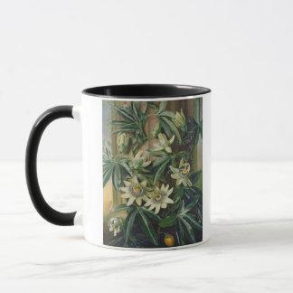 """Mug Fleur bleue de passion pour le """"temple de Flora"""""""