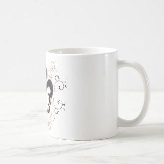 Mug Fleur De Lis : Noir et or