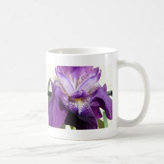 Mug fleur, pourpre d'iris