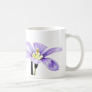 Mug Fleur pourpre en pastel