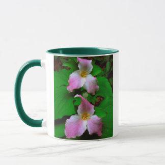 Mug Fleur sauvage de Trillium