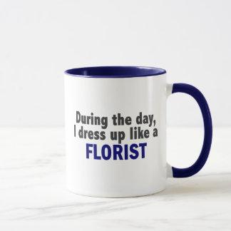 Mug Fleuriste au cours de la journée