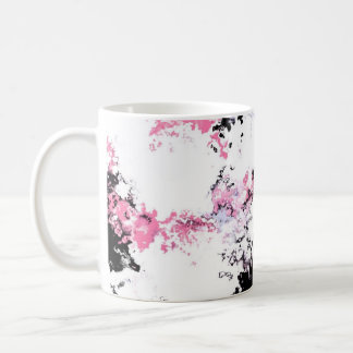 Mug Fleurs de cerisier en rouge