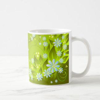 Mug fleurs de ressort