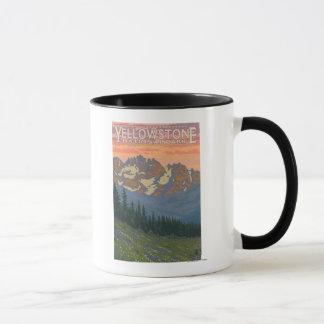 Mug Fleurs de ressort - parc national de Yellowstone