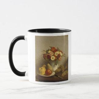 Mug Fleurs et fruit, 1865