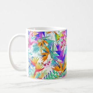 Mug Fleurs tropicales exotiques