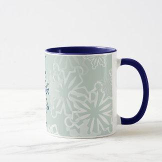 Mug Flocon de neige bleu