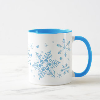 Mug Flocons de neige de crâne